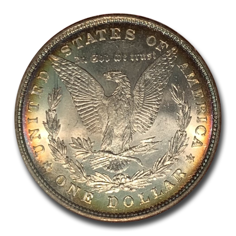 1878 8 Tailfeather Morgan Dollar MS-65 (Paramount Holder)